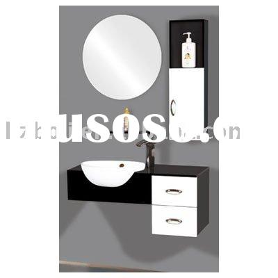 PVC bathroom cabinet with recessed basin(06830)