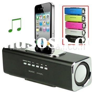 Portable Mini Music Angel Speaker for iPhone iPod Mobile Phone PC U-disk SD (JH-MAUK3)