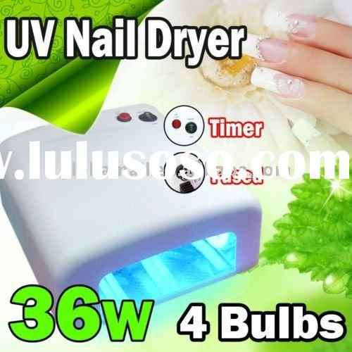 Professional 36W TUNNEL STYLE UV LAMP DRYER FOR GEL NAIL CURING ART