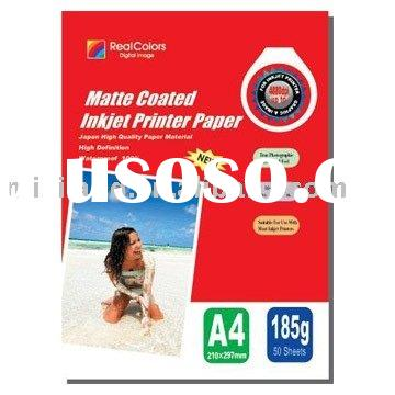 Professional High Glossy Cast Coated Inkjet Photo Paper & Photo Paper 260G