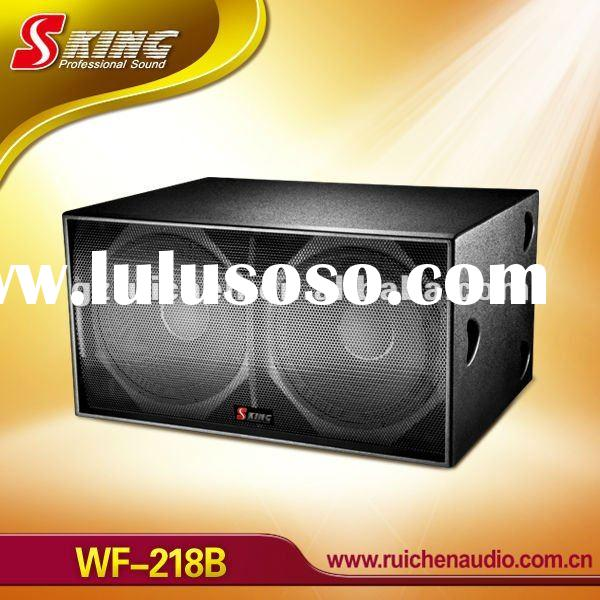 Professional dual 18 inch speaker subwoofer