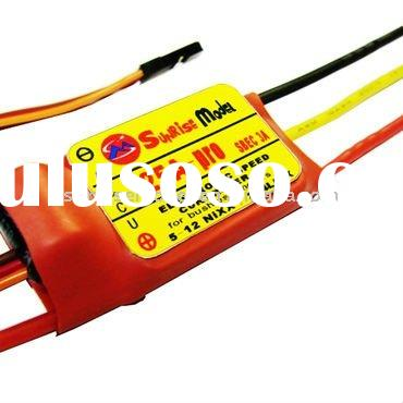 Programmable Speed Controller Brushless ESC 25A for RC plane