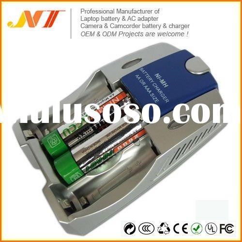 Rechargeable Ni MH battery charger AA AAA battery charger