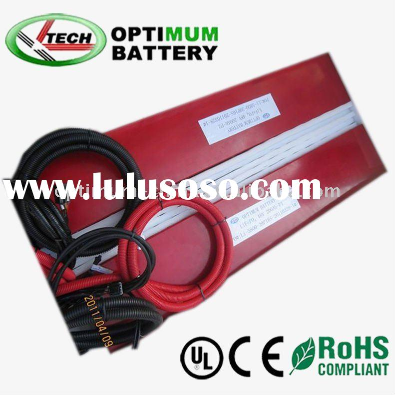 Rechargeable batteries 48v 200ah for solar energy/station power /forklift