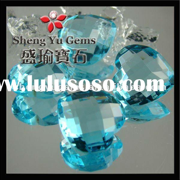SCATTER CRYSTALS GLASS CONFETTI GEM Blue Crystal Table Diamond GLHT0002#BA62 (2)