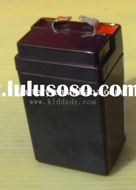 Sealed lead-acid rechargeable battery 4v2ah