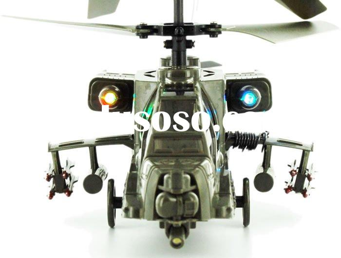 Syma S009 3ch rc toy ,Apache Military Mini Helicopter Free Shipping