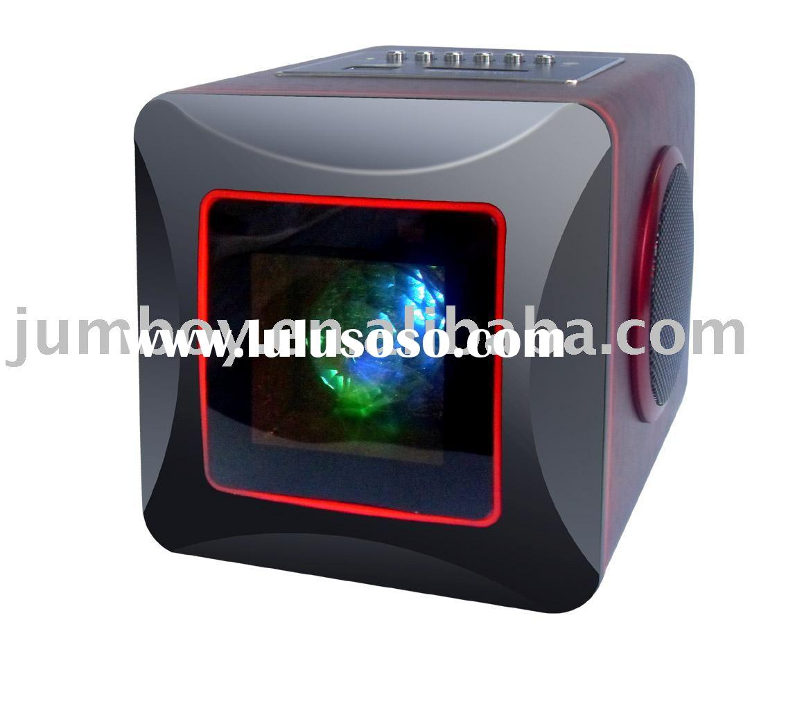 USB remote control mp3 speaker, rechargeable portable speaker, mobile speaker
