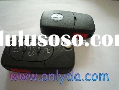 VW 3+1 Button remote key blank with 1016 battery model(Audi Style),original quality, free shipping f
