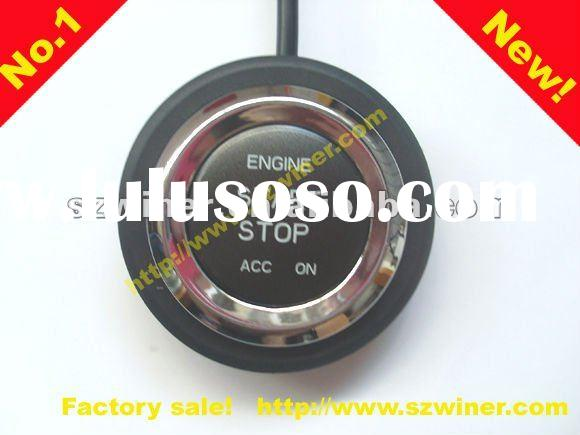 Vehicle alarm talking car alarm engine push start button window closer trunk release power oil off r