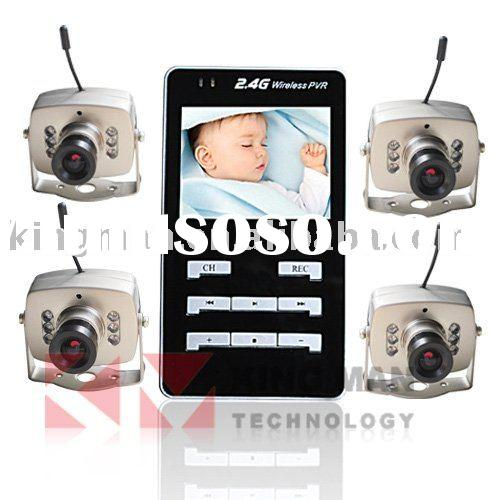 Video Recorder 4 Channel Wireless Baby Monitor