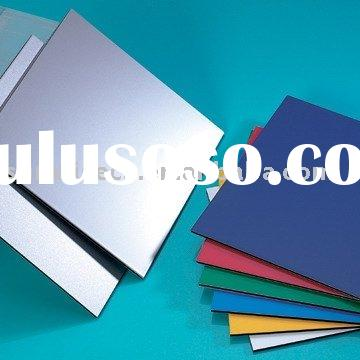 Wall Cladding Materials from Composite Aluminum Panel
