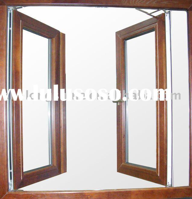 Aluminum wooden window aluminum wooden window for Wood window manufacturers