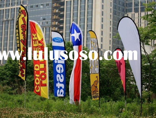 advertising / world / beach / outdoor / promotional feather flag banner(JSX-F-1101)