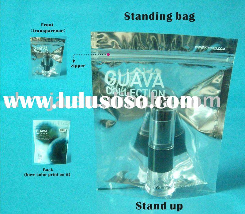 aluminum foil packaging bag/stand up zipper packaging pouch