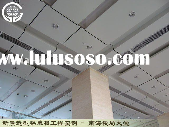 aluminum metal decoration ceiling tile/curtain wall