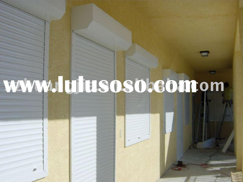 aluminum roller shutter door and window