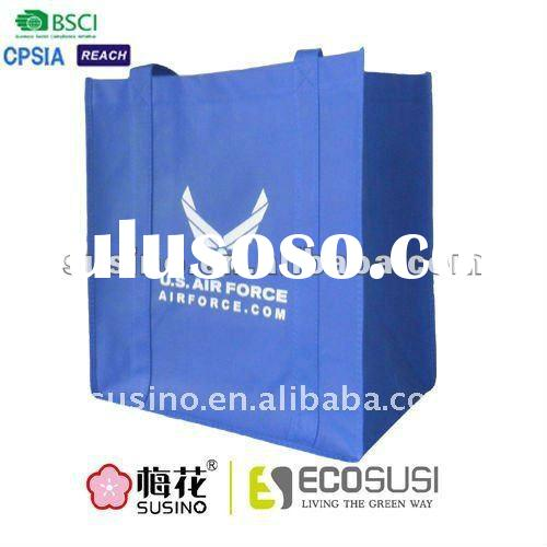 biodegradable PP non woven shopping bag for U.S air force