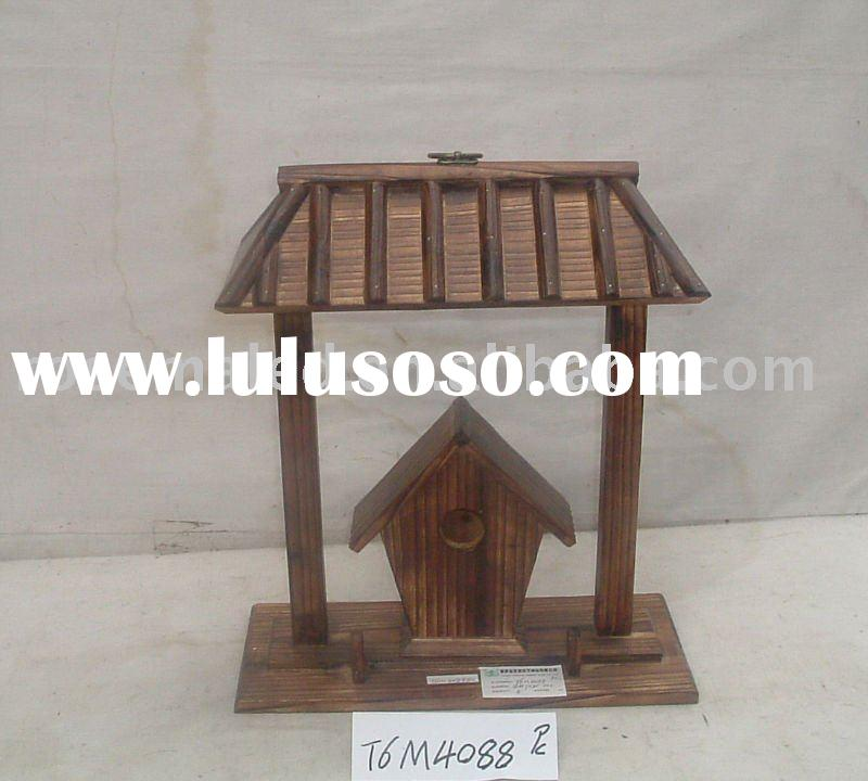 bird cage or bird house can hang on the wall at the low price