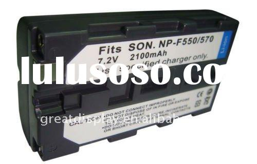 digital camera Battery for np-f550 np-f570 f550 f570