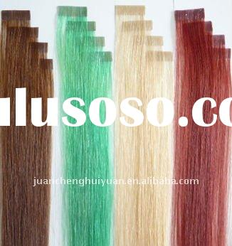 fashion tape hair extension,remy seamless pre tipped hair weaving,cheap pu skin weft extension
