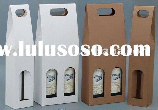 gift box wine bottle box paperboard box wine glass gift box