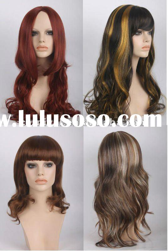 high quality fashion synthetic hair wigs(BSFW-1281)