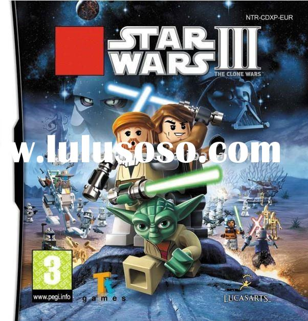 hot selling game for dsi: Star Wars III: The Clone Wars (ML)