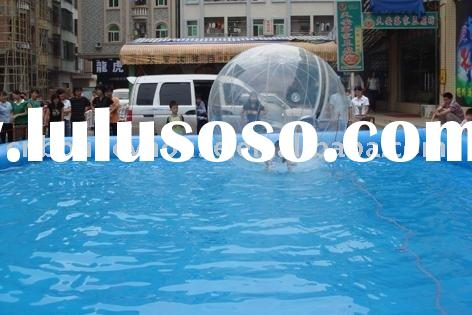 inflatable swimming pool for water walking ball