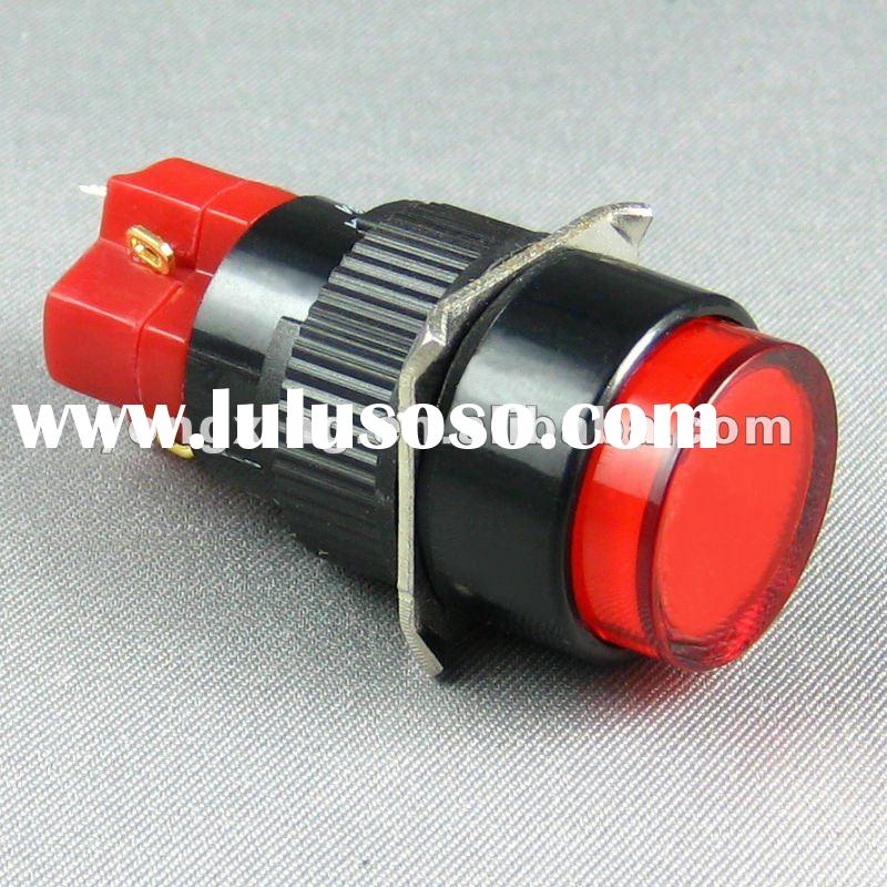 mini pushbutton lighted switch