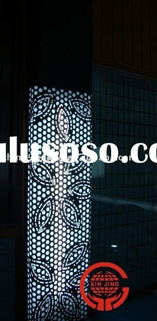 modern design aluminum perforated decorative curtain wall/ column cover