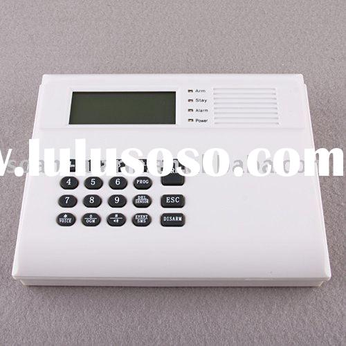 on sale wired/wireless LCD powerful telephone auto dial alarm system home alarm system
