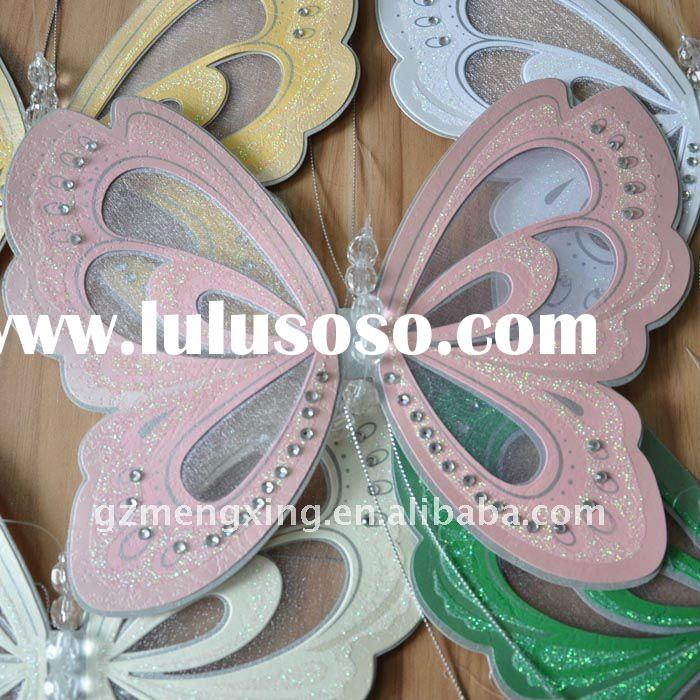 original design!! Butterfly shape luxurious wedding/party invitation cards--MX-T192