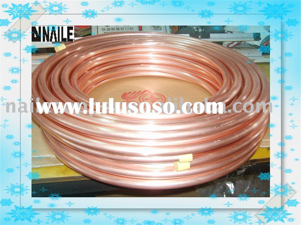 pancake coils copper pipe for air conditioner and refrigeration