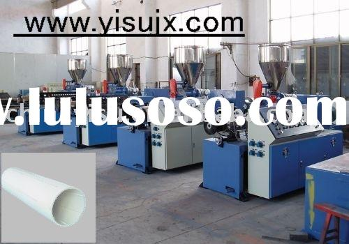 plastic extrusion production line/ gas pipe making machinery,/ PVC pipe extrusion line