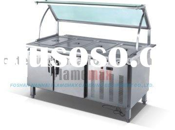 refrigerated counter, bain marie (cold)