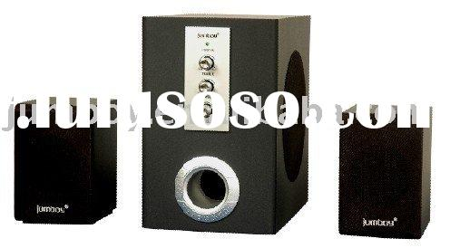 remote FM USB speaker, 2.1 SD card PC speaker, 2.1 speaker system