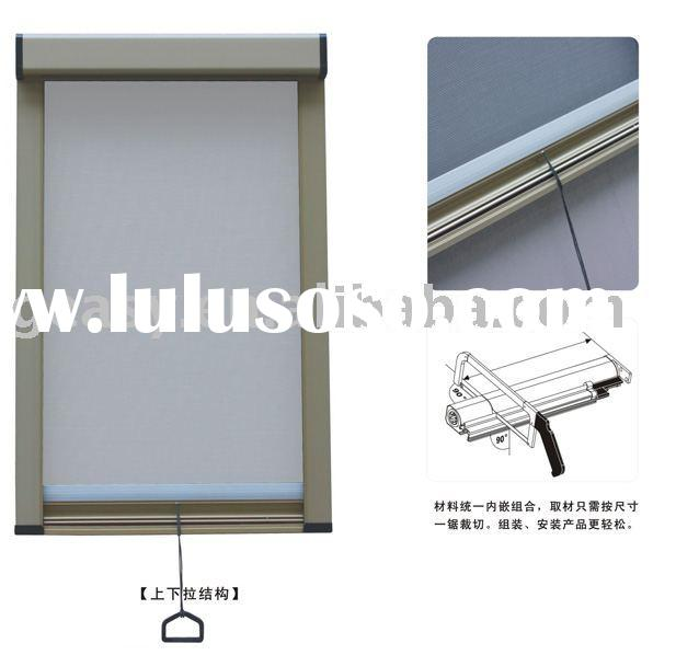 Window screen roll window screen roll manufacturers in for Roll up insect screens for windows