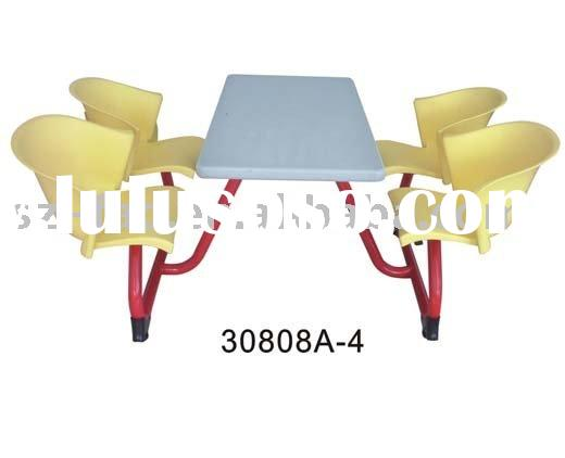 school furniture canteen table dining table and chairs