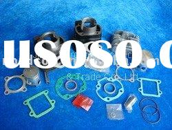 scooter parts cylinder kit yamaha vertical 50cc and 70cc