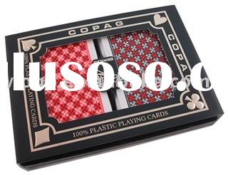 sell plastic playing cards for promotion gift cards