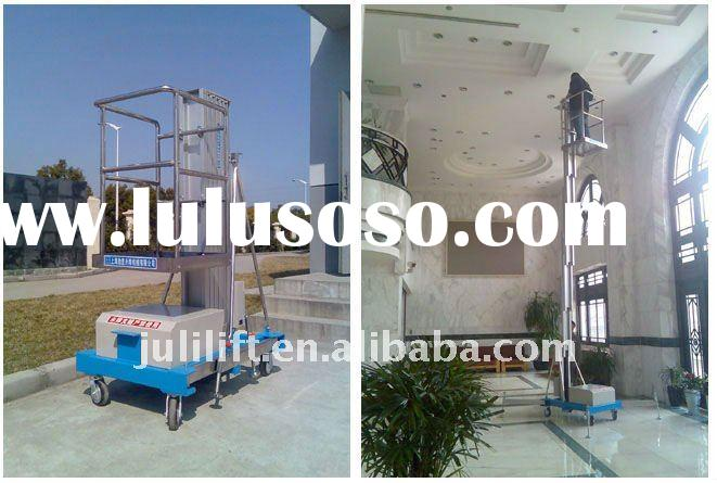 single-mast aluminum table lift mechanism