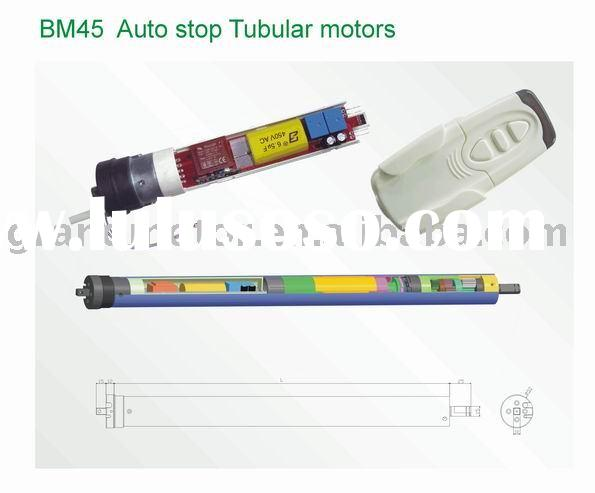 tubular motor with remote control
