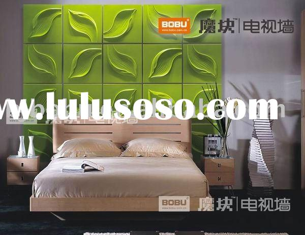 wall decoration, 3D wall paper, wall panel, home decorative material, wall board, Whisper