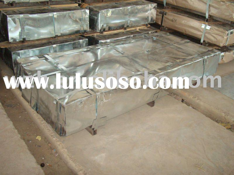 zinc aluminium coated steel roofing sheet