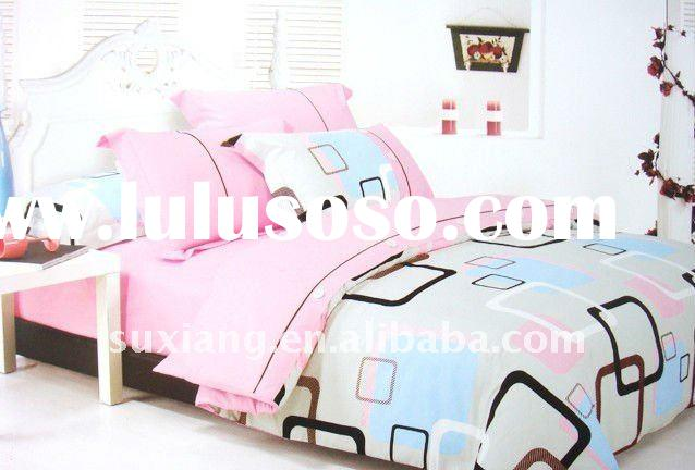 100% Cotton Reactive Printed Bedding Sets/Bed Sheet,Duvet Cover--4pcs