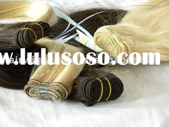 100% Toppest Remy Human Hair Extensions Direct Factory Price and Paypal Allowed