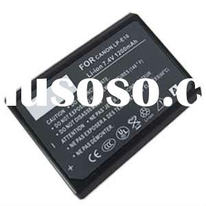 100% compatible LP-E10 digital camera camcorder battery 860mAh