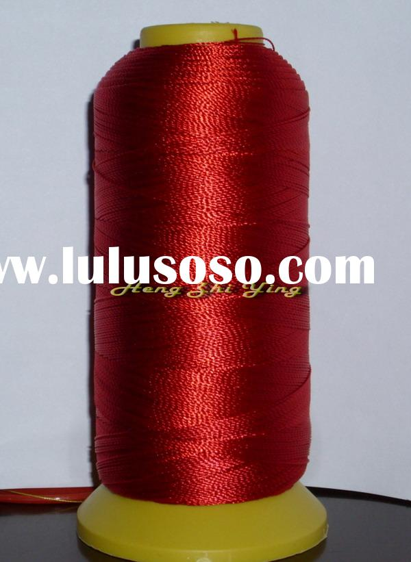 100% polyester sewing thread 210d/3 /100% polyester yarn