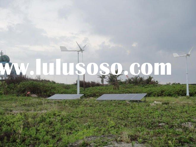 10kW Solar and wind hybrid system